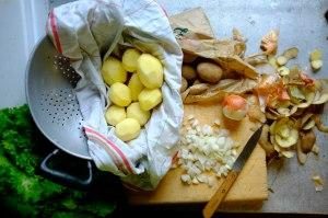 patate epluchees